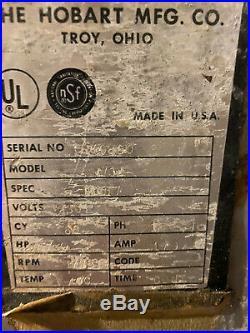 Hobart Model 4732 Meat Grinder