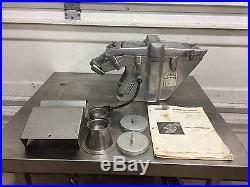 Hobart Model 61 Hamburger Beef Patty Maker Meat Grinder Attachment Part Press