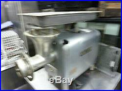 Hobart Powerful 1 1/2 HP Gear Driven Complete Meat Grinder, 115v, 900 More Items