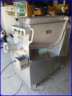 Hobart commercial meat grinder