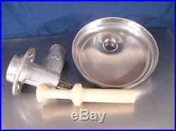Hobart meat grinder #12 good shape. Complete as shown. Genuine OEM Hobart