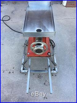 Hobart meat grinder #22