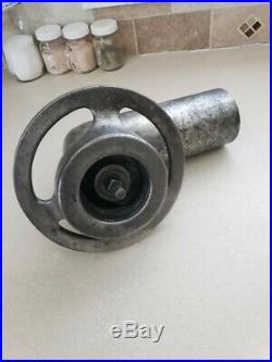 Hobart meat grinder head