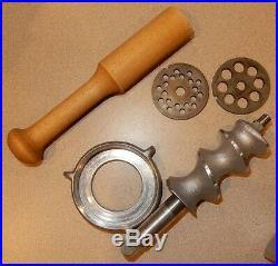 KITCHENAID Vintage Food Chopper Meat Grinder Attachment Hobart FG Metal