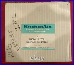 KitchenAid Food Chopper/ Meat Grinder Attachment by Hobart MFG