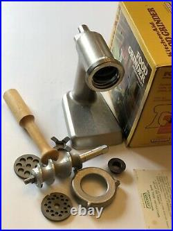KitchenAid Food Grinder Hobart Model FG Vintage METAL Mixer Attachment