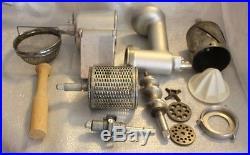 KitchenAid Hobart metal Meat Grinder Juicer Slicer Shredder Attachment Parts