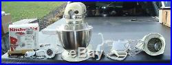 Kitchenaid hobart mixer with meat grinder & more must see