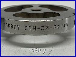 Lot Of 2 TORREY CDH-32-3K Meat Grinder Plates for Hobart