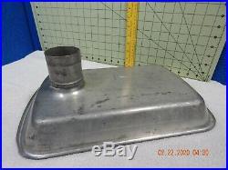 Meat Grinder Feed Pan 2-1/2 Heavy Duty Metal Hobart