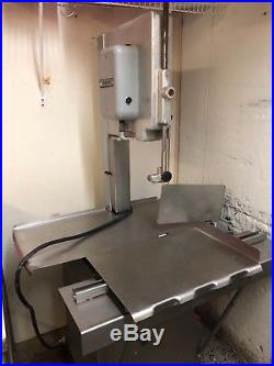 Meat saw, meat grinder, butcher equipment, saws, meat cutting equipment, deli