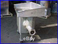 Model 4146 HOBART STAINLESS STEEL MEAT GRINDER #32