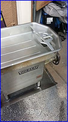 Nice Hobart Meat Grinder 4682a