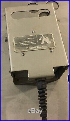 NSF Hobart SS FOOT Activated Pneumatic Machine Switch withElec Switch Meat Grinder