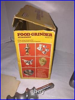 New Kitchen Aid Food Grinder Hobart Model FG METAL Mixer Attachment Plus Stuffer
