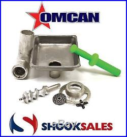 Omcan 10051 #12 Meat Grinder Attachment Fits #12 Hub For Hobart Mixers Deal NY