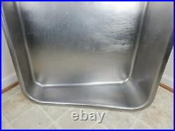 PICKUP ONLY VA WILL NOT SHIP HObart 4146 Meat Grinder Stainless steel feed pan