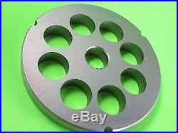 PICK YOUR SIZE #42 Meat grinder plate disc Cabelas Hobart Biro Weston STAINLESS
