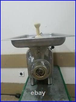 Reconditioned Hobart Meat Grinder Model 4822. 1 ph 1.5 hp READY TO BE USED
