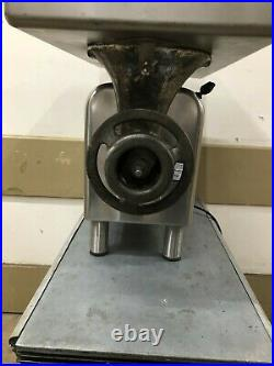 Reconditioned Hobart Meat Grinder Model 4822. 1 phase 1.5 hp READY TO BE USED