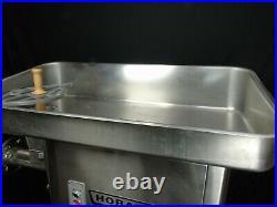 Refurbished Hobart 4146 Stainless Steel 5HP Meat Grinder 200V 3 PH NO SHIPPING