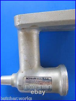 Replacement knife for the original Kitchenaid/Hobart meat grinder attachment