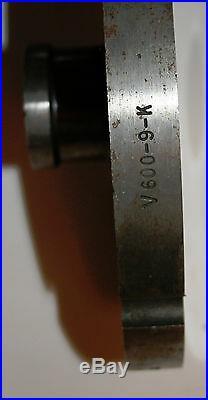 SharpTech Southern Saw Meat Grinder Plate Die 8-1/2 diameter 3/32 holes & Hub