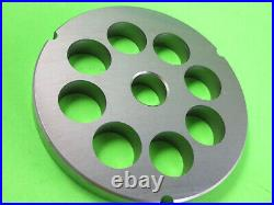 Size #42 x 1 (20mm) Meat Grinder disc plate for Cabelas 1 3/4 HP + Biro Hobart