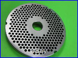 Size #42 x 3/16 Meat Grinder disc plate for Hobart 4542 Cabelas Stainless Steel