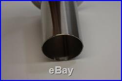 Steel #22 x 2 STAINLESS Meat grinder funnel tube LEM Cabelas Hobart Biro etc