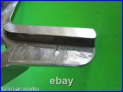 TWO #22 S/Steel Meat Grinder Knife blade for Hobart Cabelas LEM Universal etc