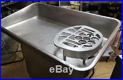 Used HOBART Feed Pan for meat grinder model 4146