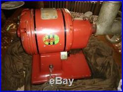 VINTAGE HOBART 1949 MEAT GRINDER 1/4 HP 115V Single Phase. 1750 Speed