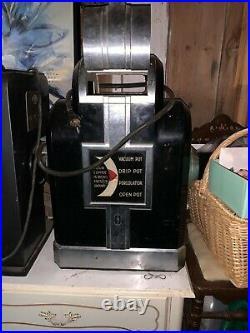 Vintage 1910 Hobart Meat Grinder, 3 Vintage Hobart Coffee Grinders lot