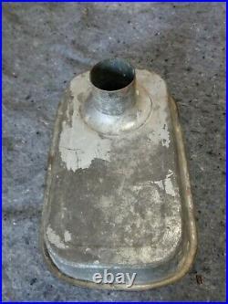 Vintage HOBART Size #12 Meat Grinder Attachment cast iron htf
