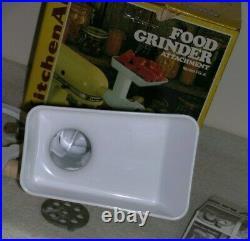 Vintage Hobart KitchenAid Food Grinder Attachment Model FG-A New in Box