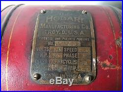 Vintage Hobart Meat Grinder Chopper Antique Model 612