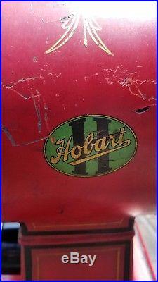 Vintage Hobart Meat Grinder Chopper Antique Model 612 Butcher Shop Beautiful