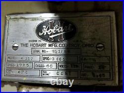 Vintage Hobart meat grinder