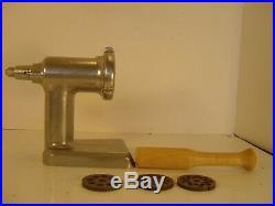 Vintage KitchenAid Food Chopper Meat Grinder Attachment, Hobart FG/FC