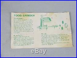 Vintage KitchenAid Food Chopper Meat Grinder Attachment Hobart FG Metal Rare Box