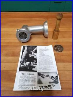 Vintage KitchenAid Food Chopper Meat Grinder Attachment by Hobart FC Rare