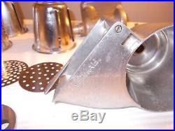 Vintage KitchenAid Hobart Disc Slicing Attachment Meat Grinder Mixer Attach