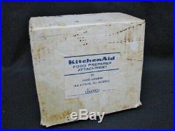 Vintage KitchenAid Hobart Food Chopper Meat Grinder FG All Metal Rare