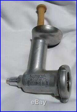 Vintage KitchenAid Hobart MEAT GRINDER Stand Mixer Attachment with 2 Disks