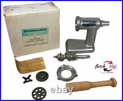 Vintage KitchenAid Hobart Metal Food Meat Grinder Attachment for Stand Mixer