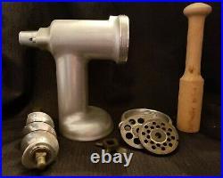 Vintage KitchenAid Hobart Stand Mixer Model K4-B MEAT GRINDER Orig. Box RARE