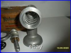 Vintage Kitchenaid Hobart Food Chopper Meat Grinder Attachment New Old Stock