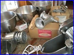 Vintage Kitchenaid Hobart Metal Food Chopper Meat Grinder Attachment Fc