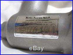 Vintage Kitchenaid Hobart Metal Food Chopper Meat Grinder Mixer Attachment FG